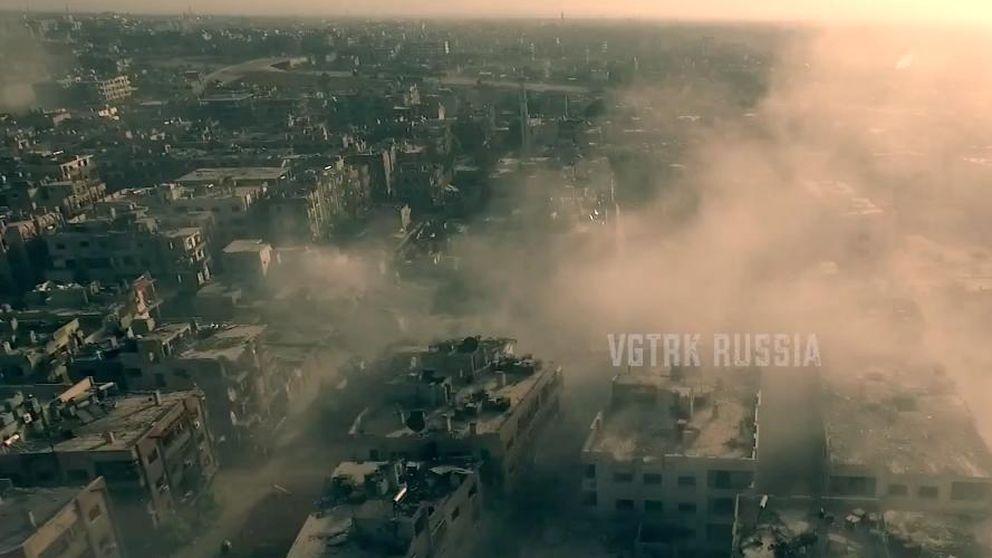 Siria arrasada a vista de pájaro