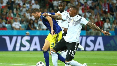Alemania - Suecia en directo: la campeona del mundo, contra las cuerdas