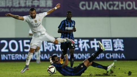 Jesé y James ponen la salsa en el Madrid ante un Inter de Milán sin respuesta