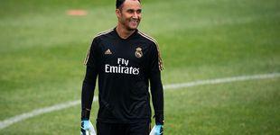 Post de El no de Zidane a Keylor Navas y la doble planificación en el Real Madrid