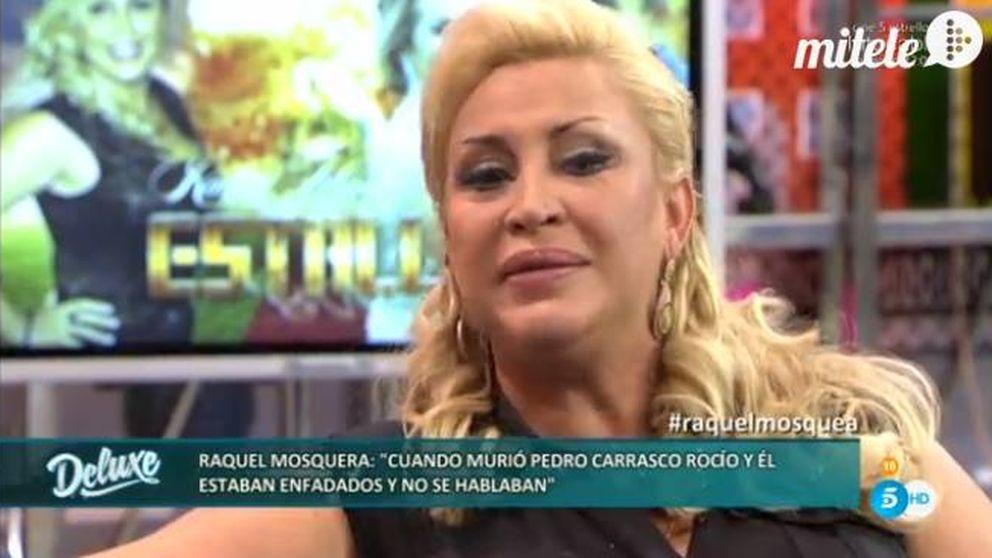 Raquel Mosquera  contra Rocío Carrasco en el polígrafo de 'Sálvame Deluxe'