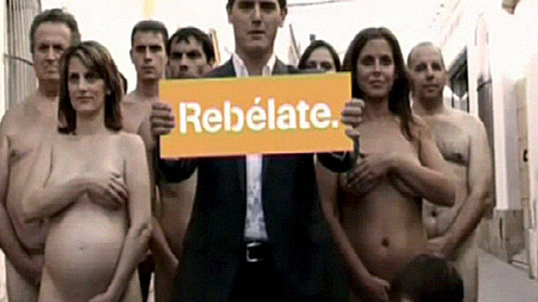 Albert Rivera, en una campaña de 2010. (EFE)