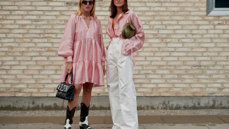 Estilos y looks en rosa muy muy clarito para convertirte en fanática de este color