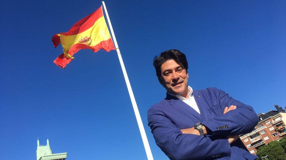 Foto: David Pérez, el alcalde de Alcorcón