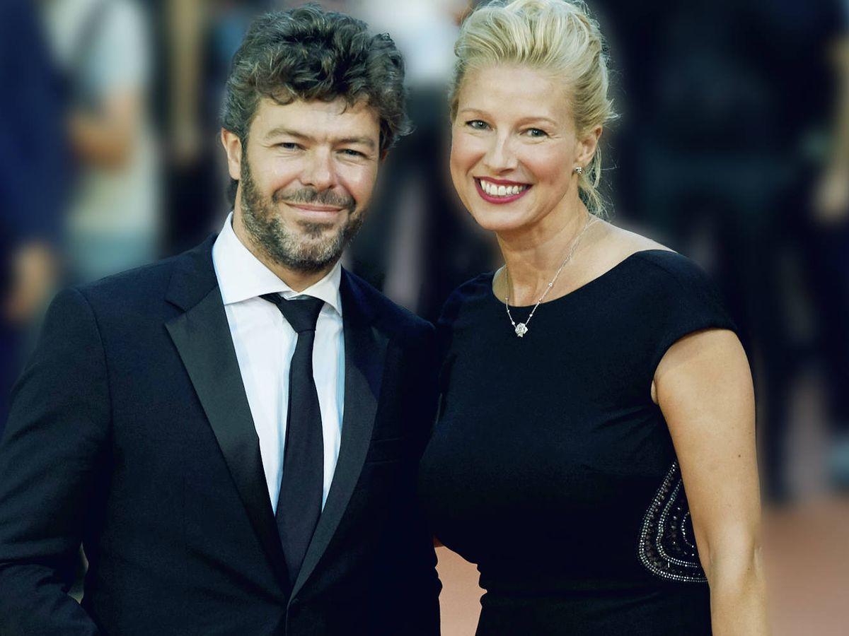 Foto: Pablo Heras-Casado y Anne Igartiburu. (Getty)