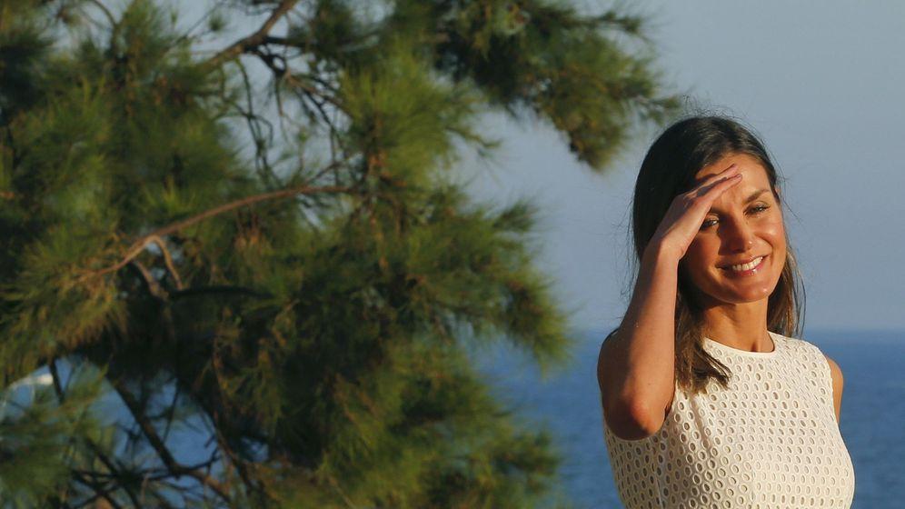 Foto: La reina Letizia en Mallorca. (EFE)