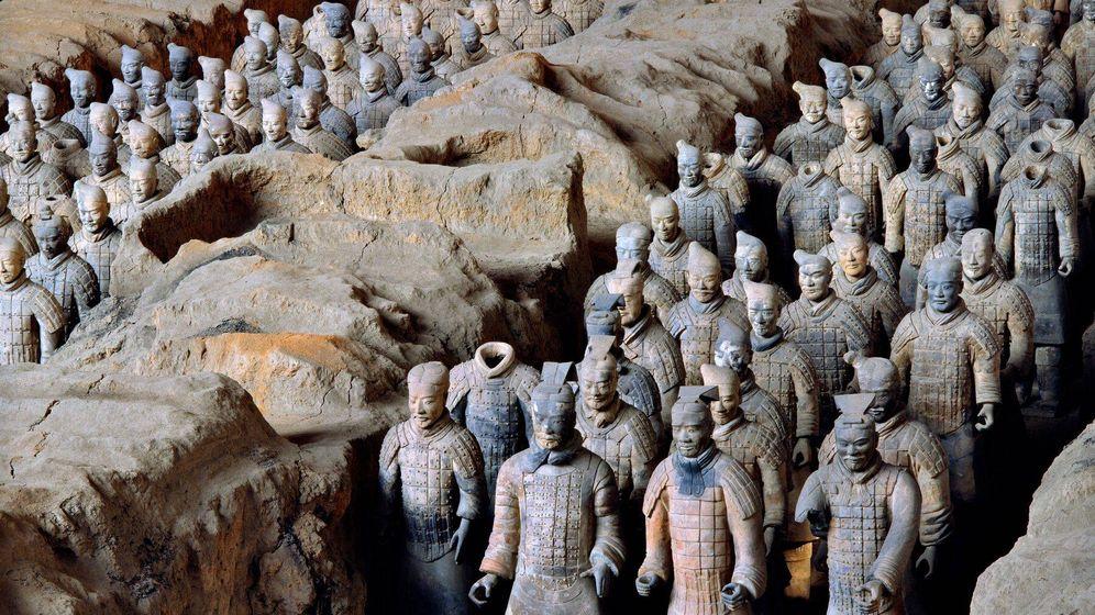 Foto: Los guerreros de Terracota de X'ian (Xia Juxian)