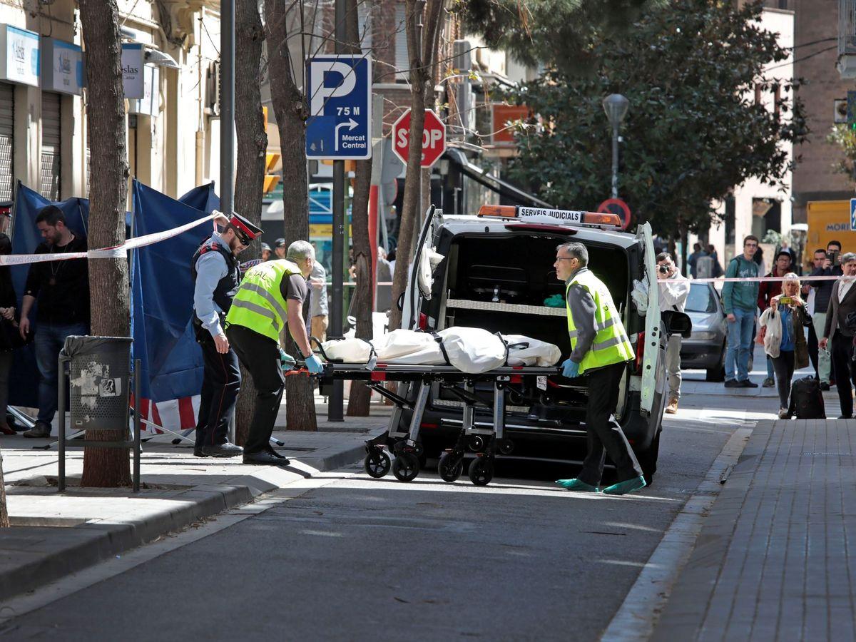 Foto: Foto de archivo de un asesinato en Sabadell. (EFE)