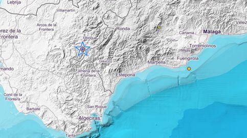 Registrado un ligero terremoto en Ubrique y varias localidades de Cádiz