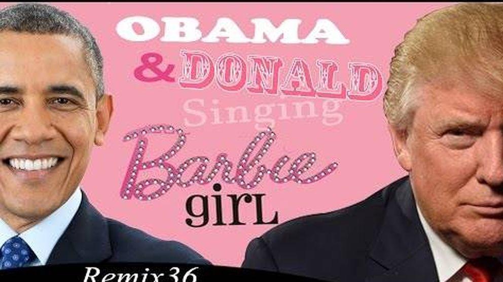 Trump y Obama, ¿los nuevos 'Barbie y Ken'?