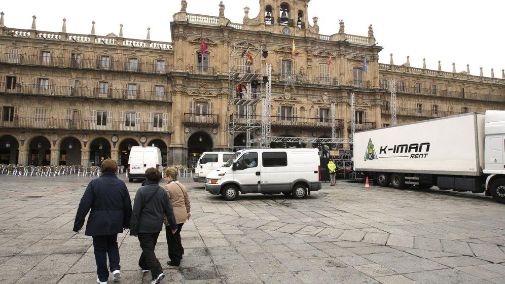 Foto: Plaza Mayor de la ciudad de Salamanca. (EFE)