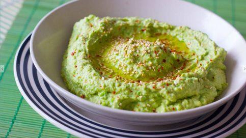 Hummus de guisantes, un dip rápido y fácil de preparar
