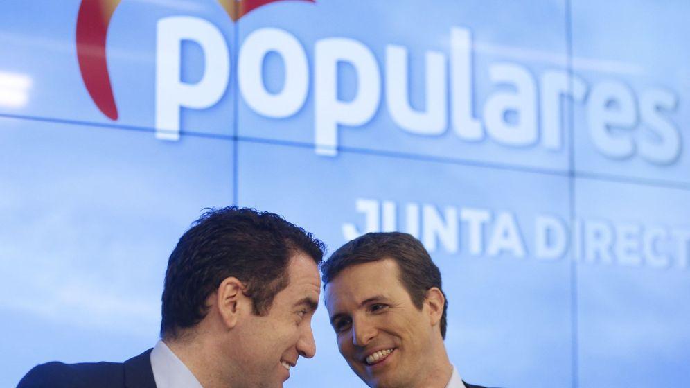 Foto: Pablo Casado y Teodoro García Egea. (EFE)
