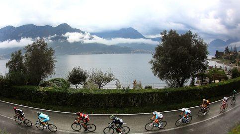 Estremecedora caída de De Plus en un Giro de Lombardía ganado por Nibali
