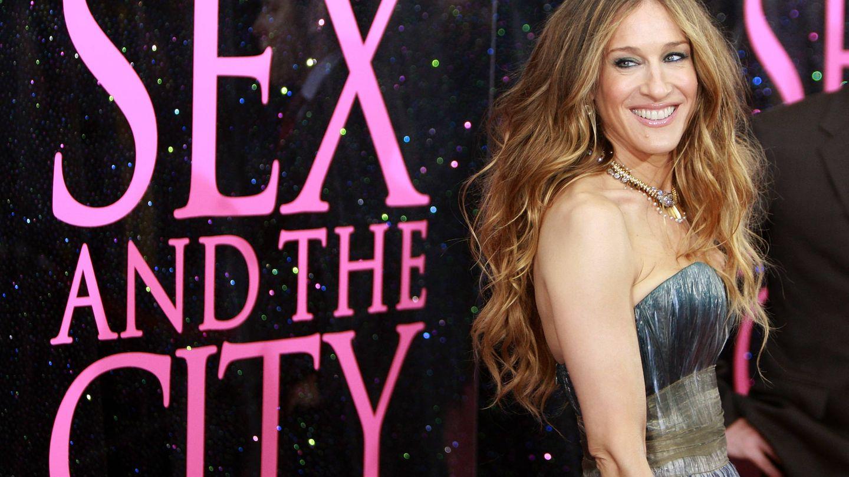 Sarah Jessica Parker, en el estreno de la película 'Sex and the City'. (Getty)