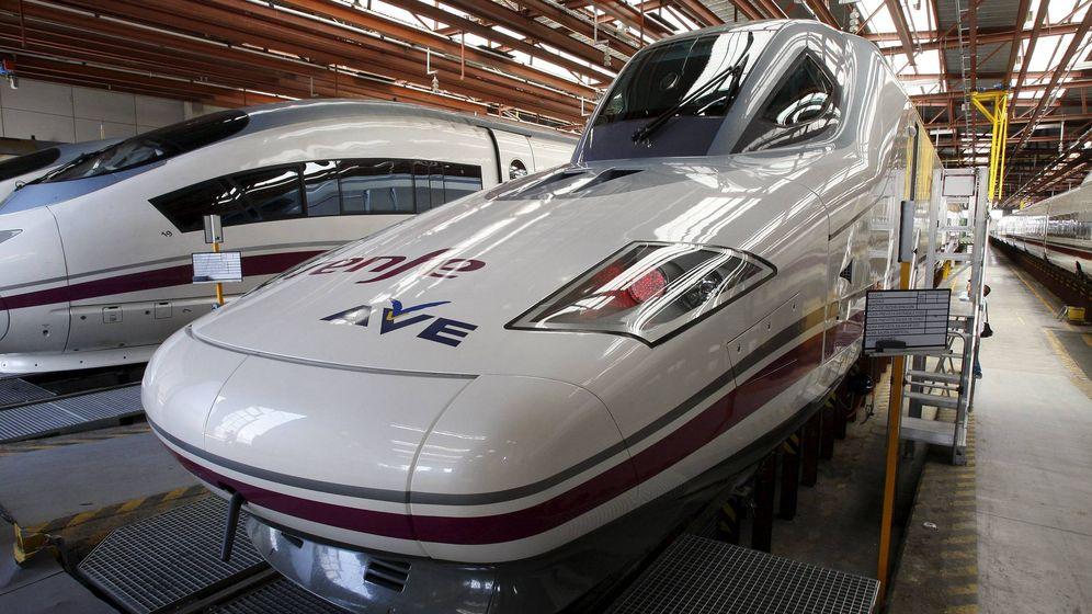 Foto: Trenes de Alta Velocidad. (EFE)