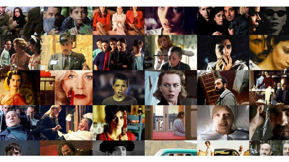 Las 'mejores películas' de la historia de los Premios Goya