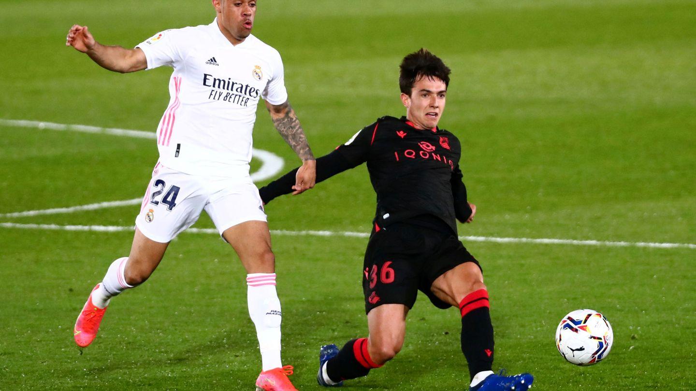 Mariano ha jugado muy poco desde su vuelta al Real Madrid. (Reuters)