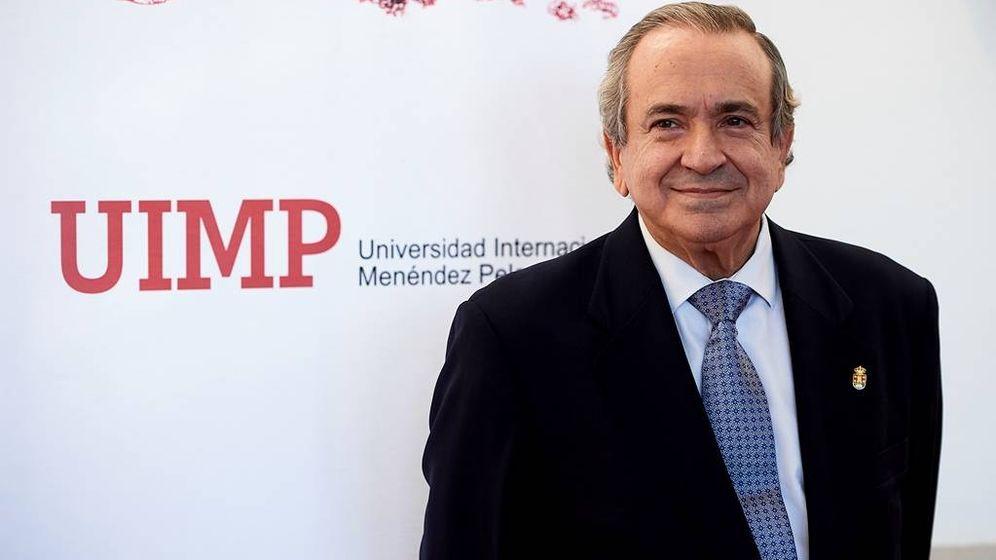 Foto: El rector de la Universidad Internacional Menéndez Pelayo, Emilio Lora-Tamayo. (UIMP)