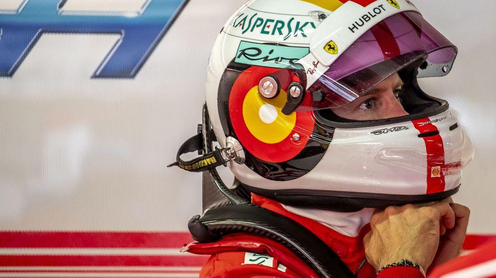 Foto: Vettel no puede volver a fallar. (EFE)