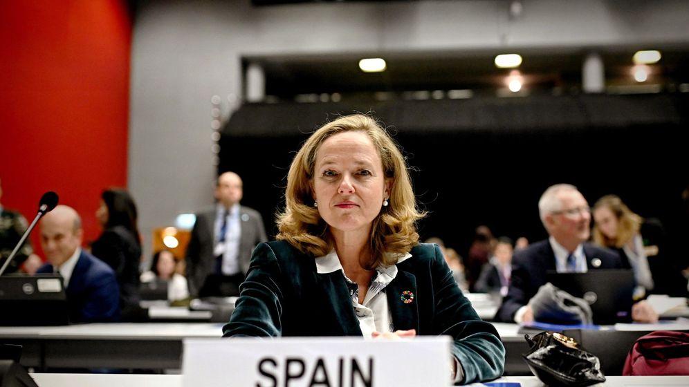 Foto: Nadia Calviño, vicepresidenta económica del Gobierno. (EFE)