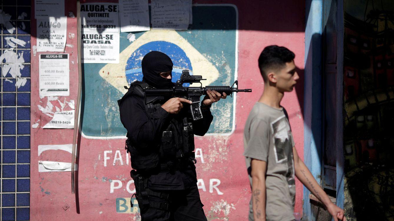 Policía que mata, policía que muere en Río (I): más bajas que los soldados de EEUU