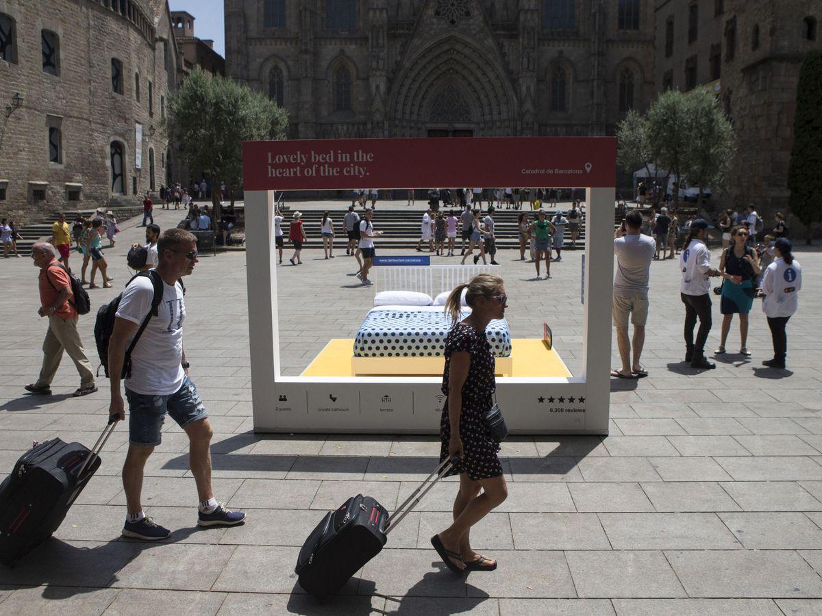 Foto: Madrid Aloja calcula que 8 de cada 10 pisos turísticos desaparecerían con la nueva ley.