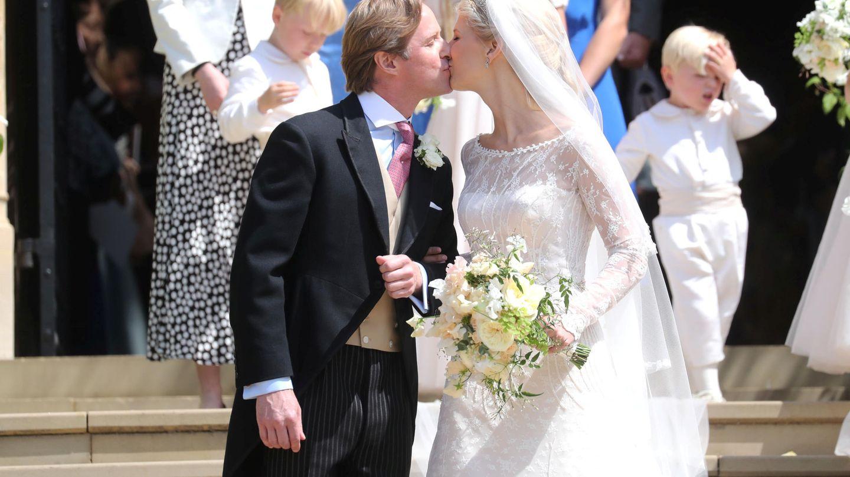 Lady Gabriella Windsor y Thomas Kingston, en 2019. (Reuters)