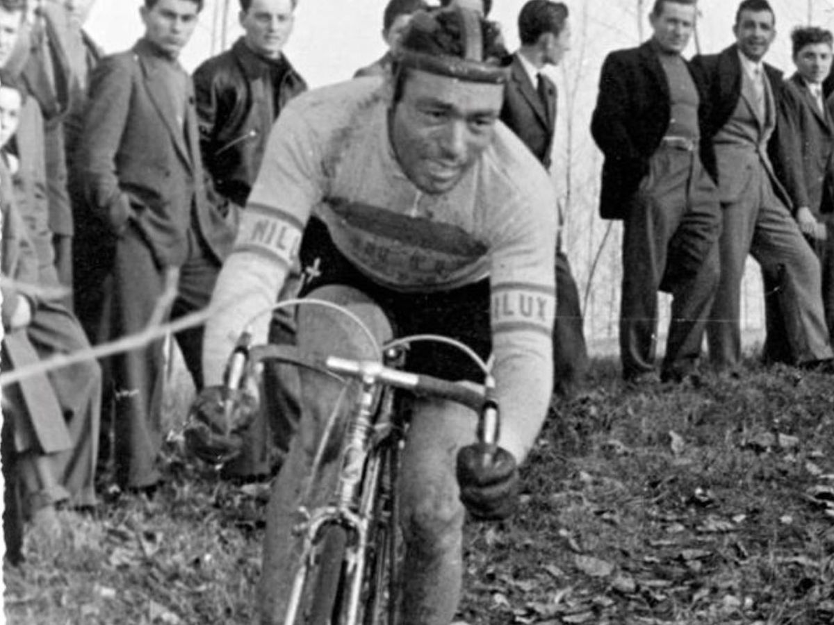 Foto: ciclista italiano Luigi Malabroka