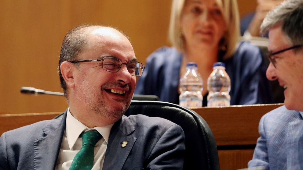 Lambán logra repetir mandato en Aragón con el apoyo de Podemos, PAR, CHA e IU