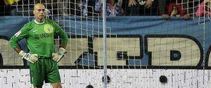 Foto: Willy Caballero, el trabajador del fútbol que ha recuperado la sonrisa gracias al Málaga
