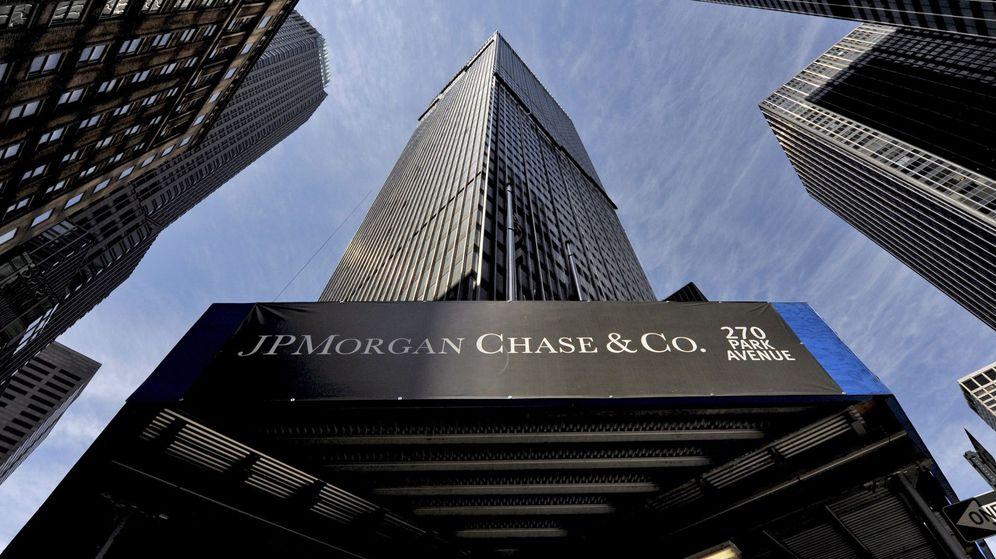 Foto: JP Morgan, uno de los bancos más grandes del mundo. (EFE)