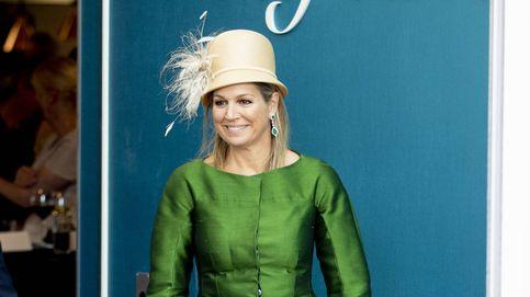 El indescriptible sombrero de la reina Máxima, protagonista de su último acto