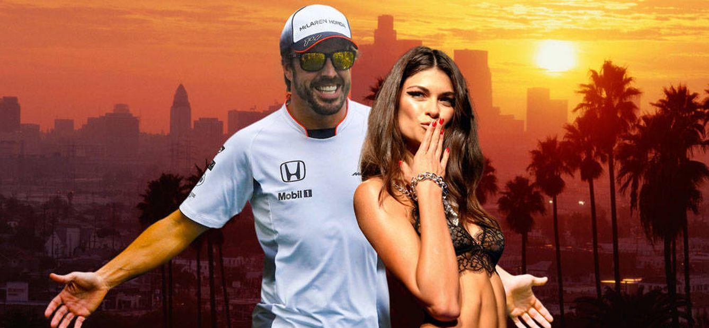 Foto: Fernando Alonso y Linda Morselli disfrutan de unos días en California (EEUU)
