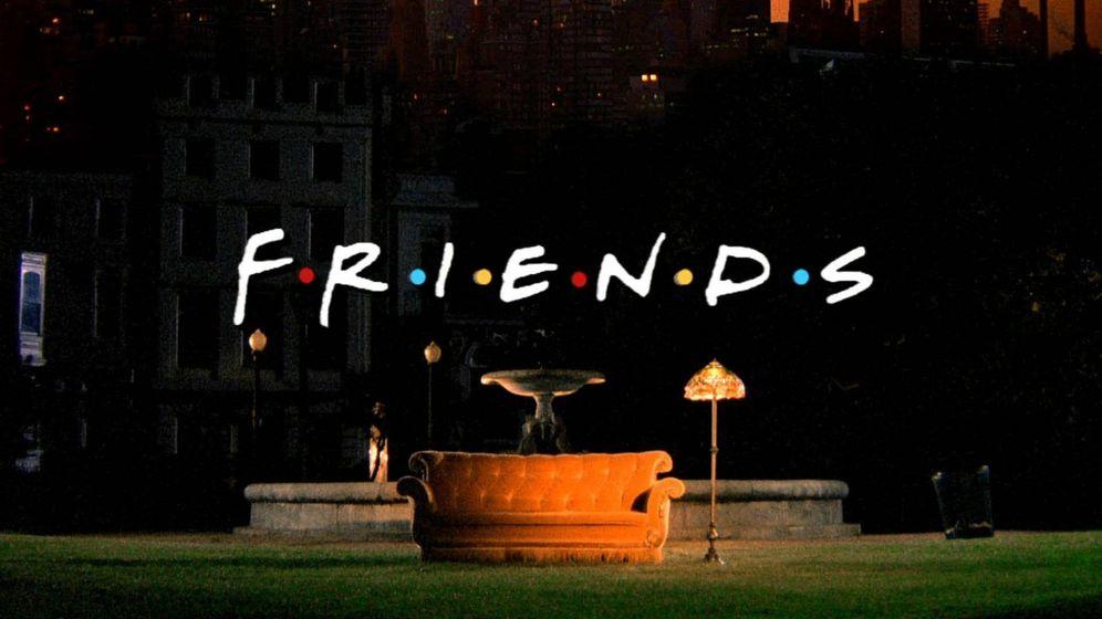 Foto: Cabecera de la serie 'Friends' (Fuente: NBC).