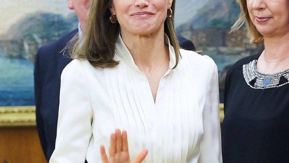 El enigmático look de la reina Letizia para una jornada de audiencias