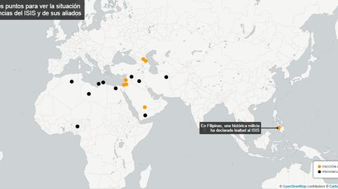 El ISIS avanza: mapa del 'Califato' global