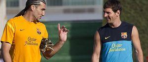 Para que Messi se sienta seguro, Valdés se queda sin competencia