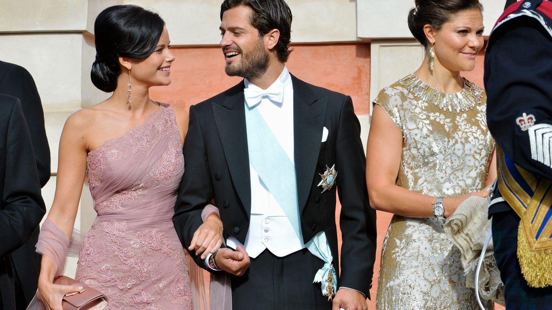 Foto: Victoria de Suecia junto a Carlos Felipe y Sofía Hellqvist