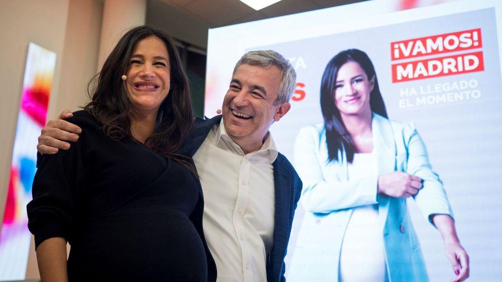 Foto: Los candidatos de Ciudadanos al Parlamento europeo, Luis Garicano (d), y a la alcaldía de Madrid, Begoña Villacís (Efe)