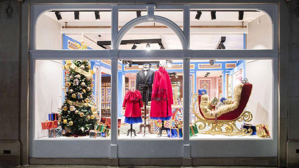 Foto: El escaparate de la tienda de Dolce & Gabbana.