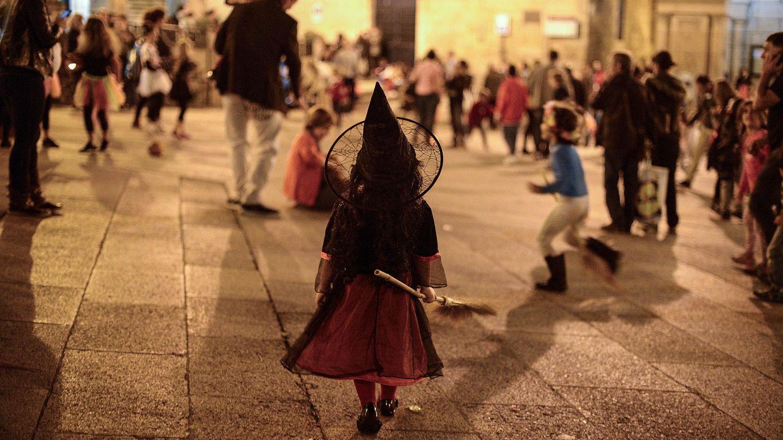 Desfile de Samaín en Ourense en 2014. (EFE)
