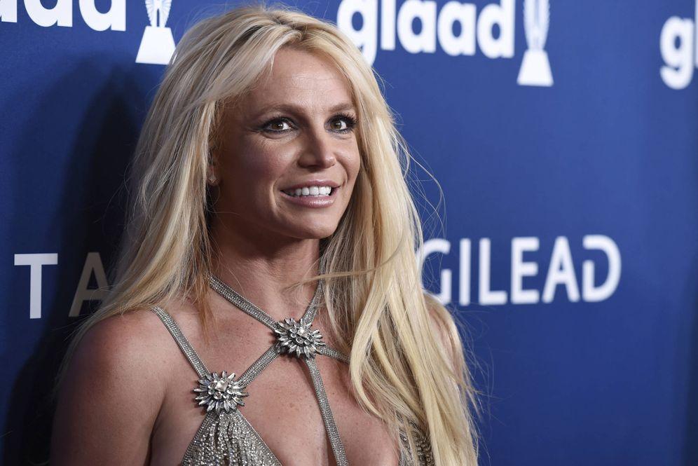 Foto: Britney Spears en los premios GLAAD. (Gtres)