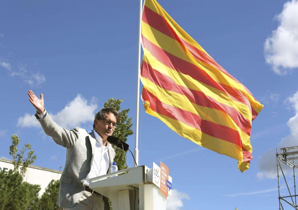 Foto: El presidente de la Generalitat y de CDC, Artur Mas. (EFE)
