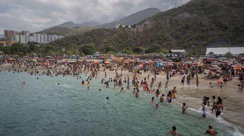 La crisis venezolana se 'olvida' con agua de mar