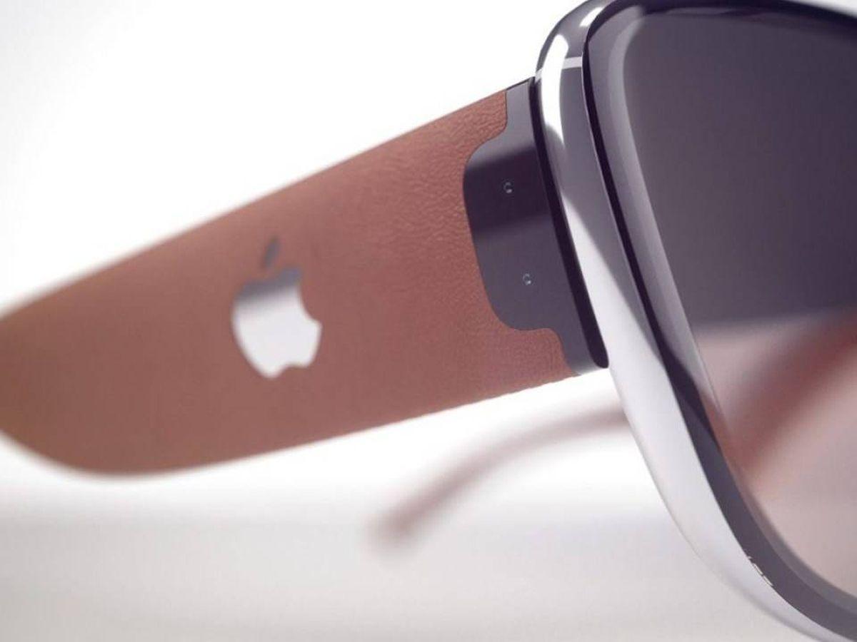 Foto: Concepto de gafas inteligentes Apple. (Martin Hajek)