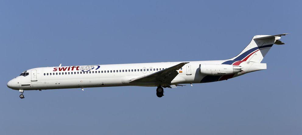 Foto: Imagen de archivo del avión (Reuters)