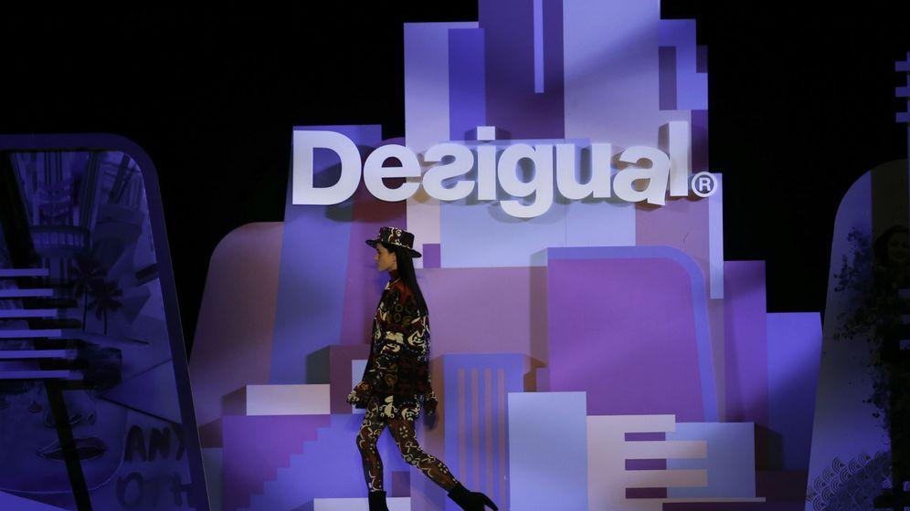 Foto: Desfile de la marca Desigual. (EFE)