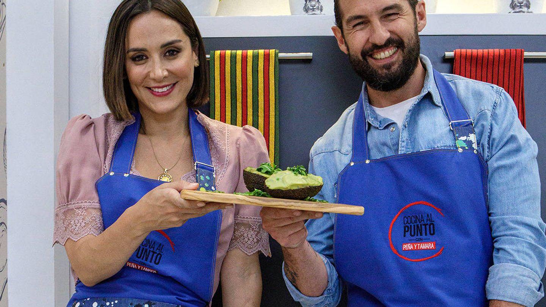 Tamara y su compañero, Javier Peña. (TVE)