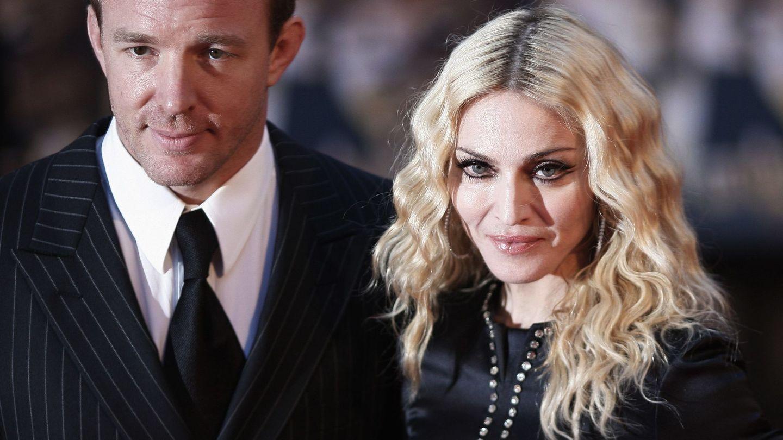 Madonna y Guy Ritchie, en 2008. (Reuters)
